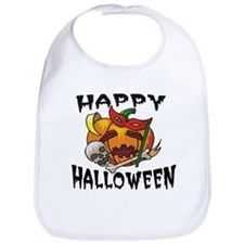 Party Pumpkin Bib