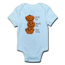 See, Hear, Speak No Evil Pumpkins Body Suit