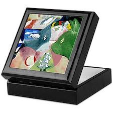 """""""Chagall's Cats"""" Keepsake Box"""
