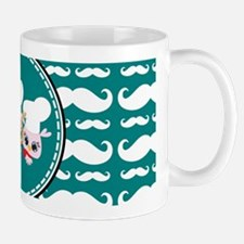 Owl Mustache Chef and Friends Mug