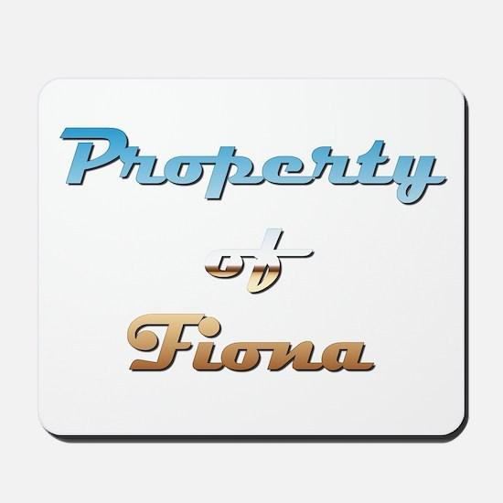 Property Of Fiona Female Mousepad