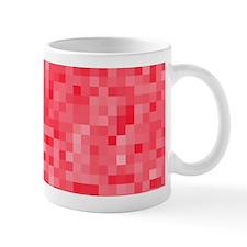 Strawberry Pixel Mosaic Mug