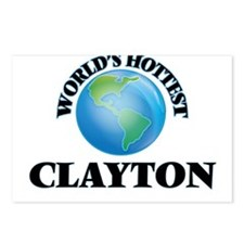 World's hottest Clayton Postcards (Package of 8)
