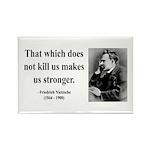 Nietzsche 13 Rectangle Magnet (10 pack)