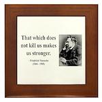 Nietzsche 13 Framed Tile