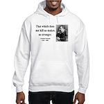 Nietzsche 13 Hooded Sweatshirt