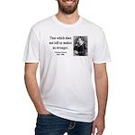 Nietzsche 13 Fitted T-Shirt