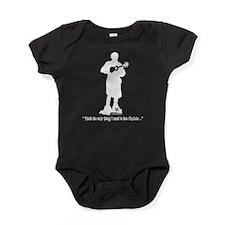 Unique Funny uke Baby Bodysuit