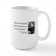 Nietzsche 12 Large Mug