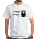 Nietzsche 12 White T-Shirt