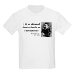 Nietzsche 12 Kids Light T-Shirt