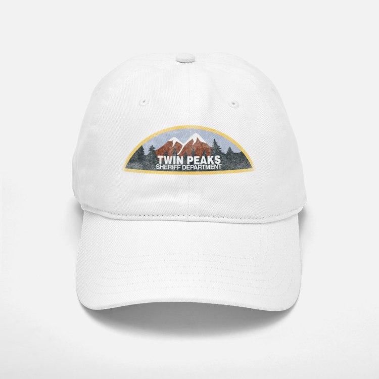 Vintage Twin Peaks Sheriff Department Baseball Baseball Cap