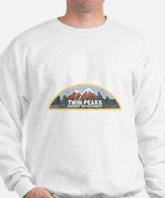 Vintage Twin Peaks Sheriff Department Sweater