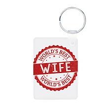 World's Best Wife Keychains