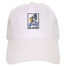 DD-807 USS BENNER Destroyer Ship Military Patc Baseball Cap