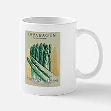 Vintage Seed Pack Asparagus Mug
