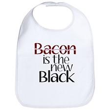 Bacon Is The New Black Bib