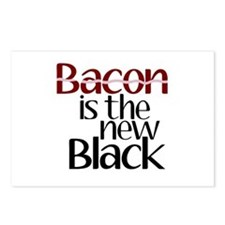 Bacon Is The New Black Postcards (Package of 8)