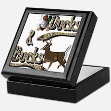 Ducks & Bucks Keepsake Box