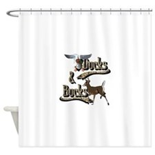 Ducks & Bucks Shower Curtain
