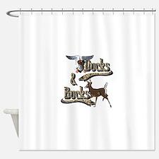 Ducks & Bucks Shower Curtain