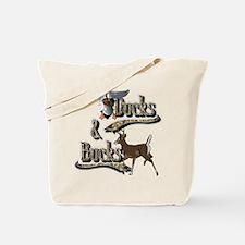Ducks & Bucks Tote Bag