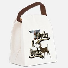 Ducks & Bucks Canvas Lunch Bag