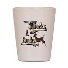 Ducks & Bucks Shot Glass