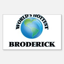 World's hottest Broderick Decal