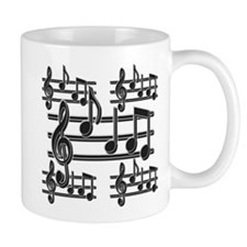 Musical Note Design Mug