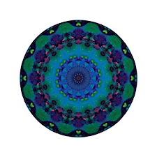 """Mellow Art Mandala 3.5"""" Button (100 pack)"""