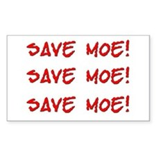 Save Moe Sticker (Rect.)