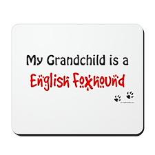 En Foxhound Grandchild Mousepad