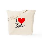 I Love Kafka Tote Bag