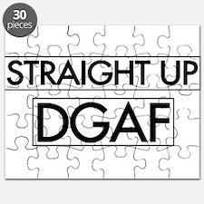 Straight Up DGAF Puzzle