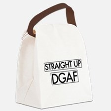 Straight Up DGAF Canvas Lunch Bag