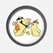 Candy Ghosts Wall Clock
