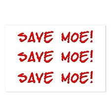Save Moe Postcards (8)