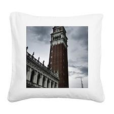 Cool Campanile Square Canvas Pillow