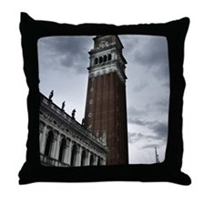 Funny Campanile Throw Pillow