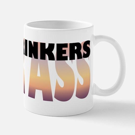 Beer Drinkers Kick Ass Mug