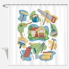 Home Improvement Shower Curtain