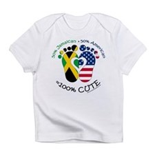Jamaican American Baby Infant T-Shirt