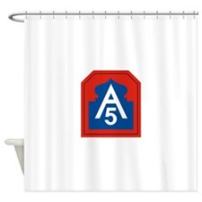 5th Army.png Shower Curtain