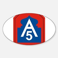 5th Army Decal