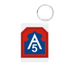 5th Army Keychains