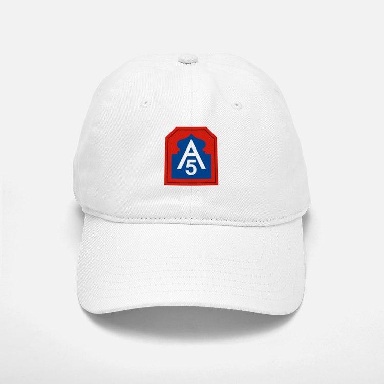 5th Army.png Baseball Baseball Cap
