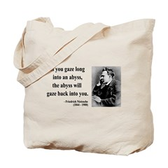 Nietzsche 9 Tote Bag