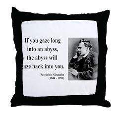 Nietzsche 9 Throw Pillow