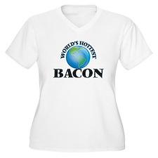 World's hottest Bacon Plus Size T-Shirt